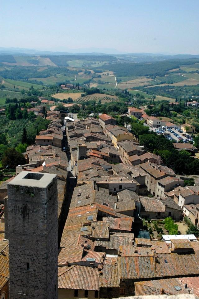 O charme medieval de San Gimignano