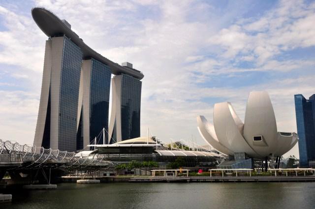 O espetacular Marina Bay Sands