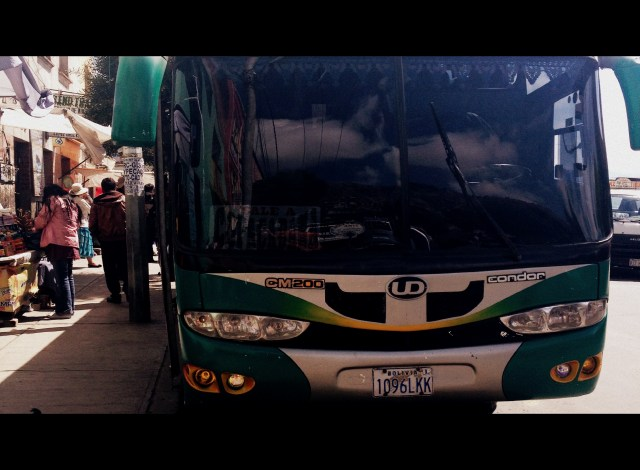 Nosso ônibus até Copacabana