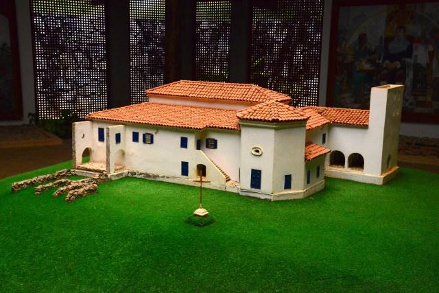 Maquete do Castelo da Torre de Garcia D'Ávila.