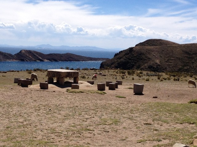 Mesa de oferendas Inca