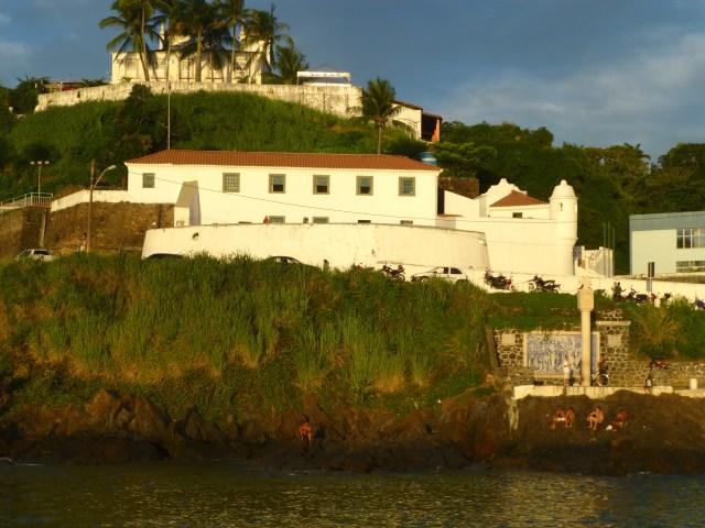 O Forte de São Diogo na Praia do Porto da Barra.