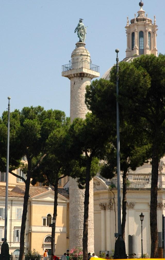 A Coluna de Trajano.