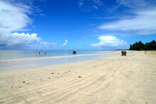 A paradisíaca Quarta Praia.