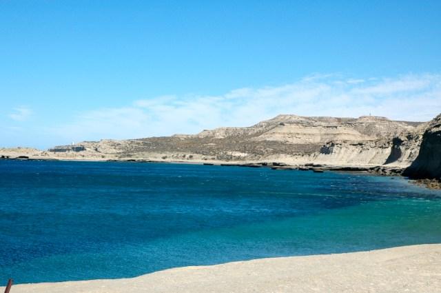 Paisagem típica da Península Valdés.
