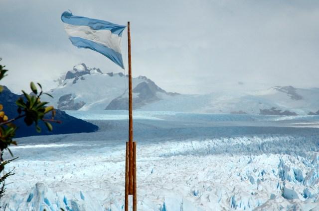 Os glaciares estão por toda parte.