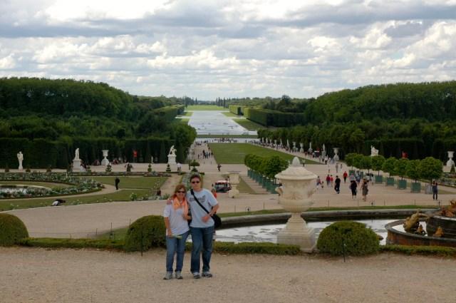 Os Jardins de Versalhes.