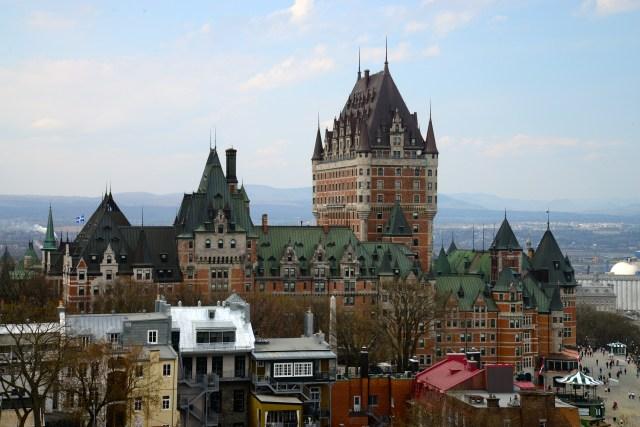 A cidade de Quebec é uma das mais visitadas do Canadá.