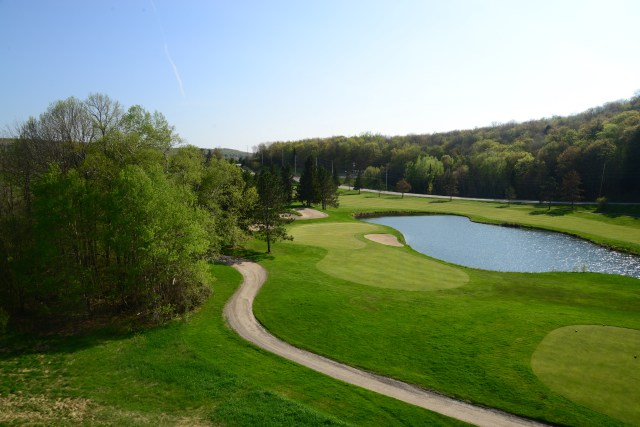 Campo de Golfe do Deerhurst Resort.