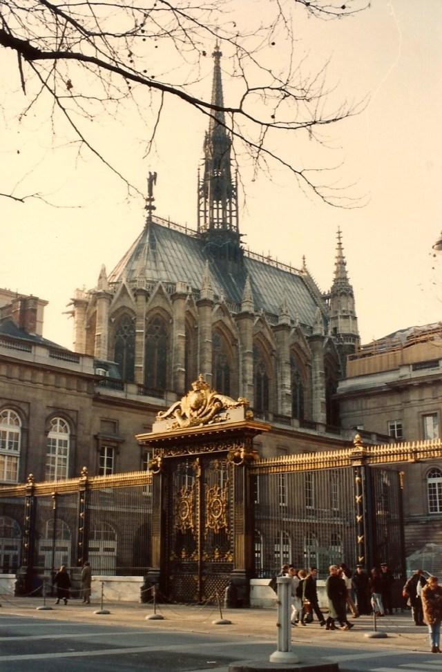 O Palácio da Justiça e a Saint Chapelle