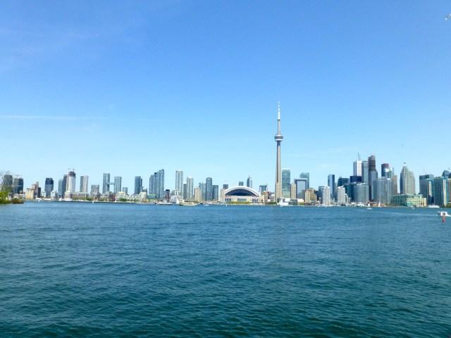 Toronto e o Lago Ontário.