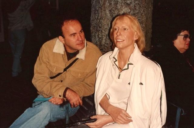 Martina Navratilova no Museu de Cera da Madame Toussaud
