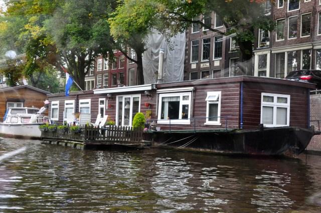 Os barcos-casas