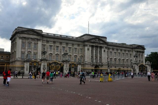 O Palácio de Buckingham