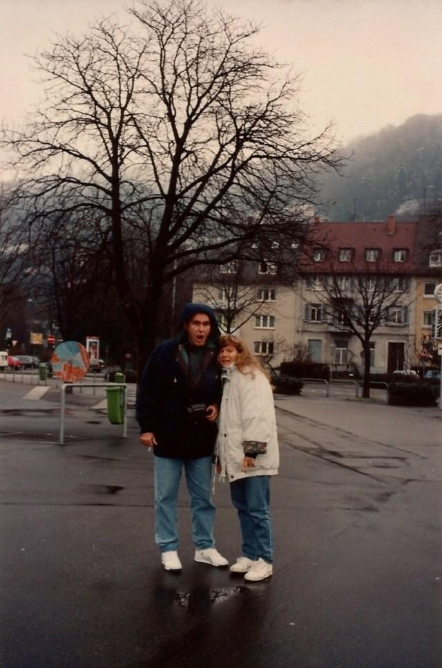 Chegando a Freiburg