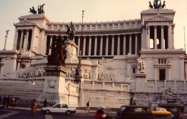 O monumento Il Vitoriano.