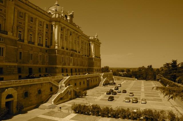 O Palácio do Governo em Madri