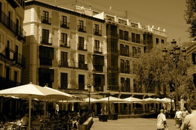 O centro de Toledo.