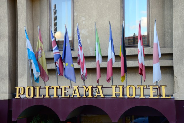 O Politeama Hotel.