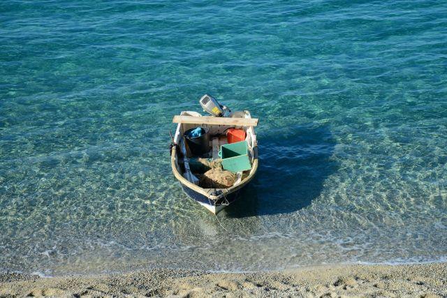 A transparência do mar de Tropea.