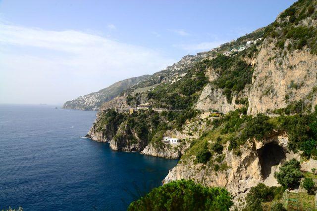 Detalhe da Costa Amalfitana.