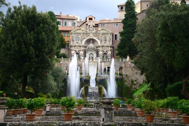 O Palácio da Villa D'Este