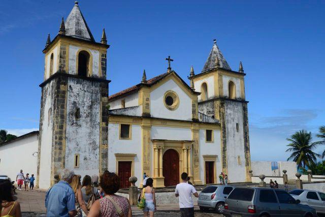 A Catedral da Sé de Olinda.
