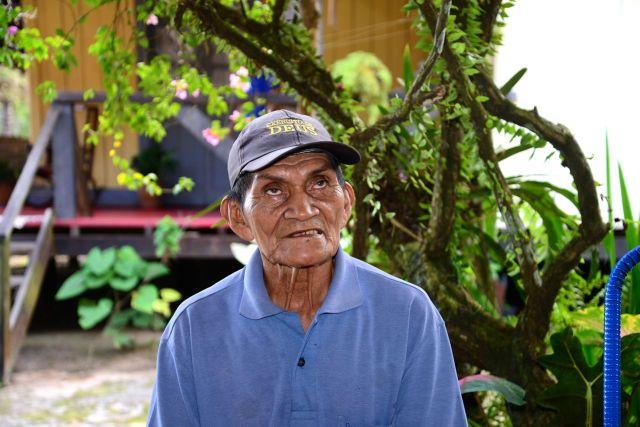 Os nordestinos foram para a Amazônia trabalhar no Ciclo da Borracha.