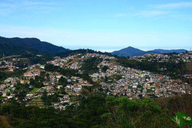 Campos do Jordão, o município mais alto do Brasil.
