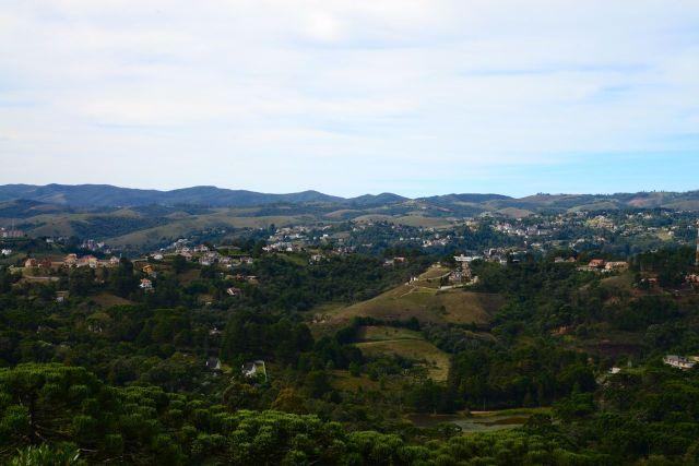 Vista panorâmica da Serra da Mantiqueira.
