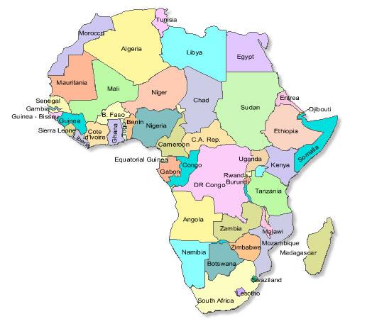 Ruanda, no centro da África