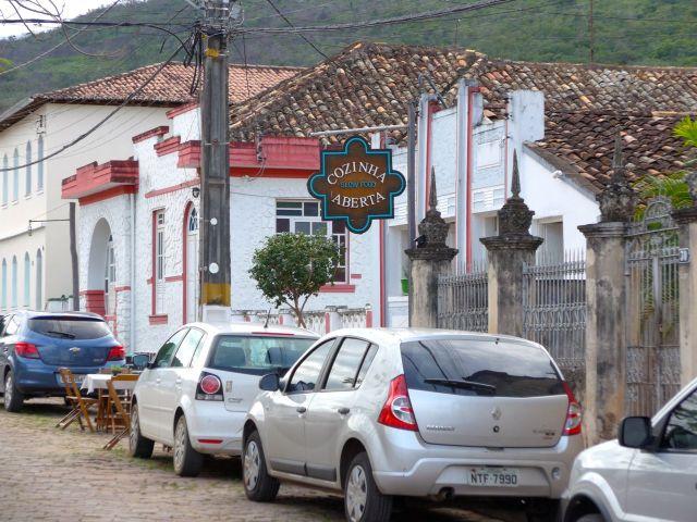 O excelente restaurante Cozinha Aberta.
