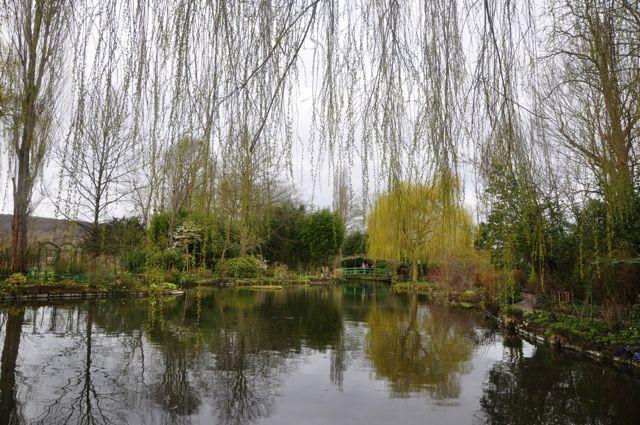 Os Jardins de Monet em Giverny.