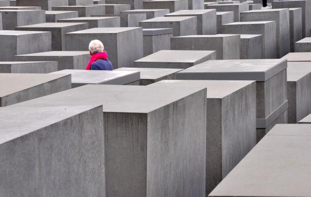 O Memorial do Holocausto em Berlim.