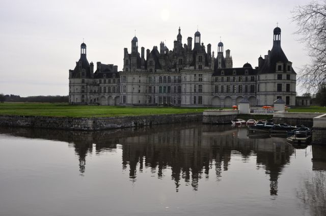 O Castelo de Chambord.