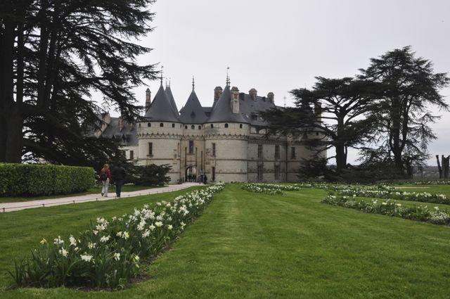 O Castelo de Chaumont no Vale do Loire