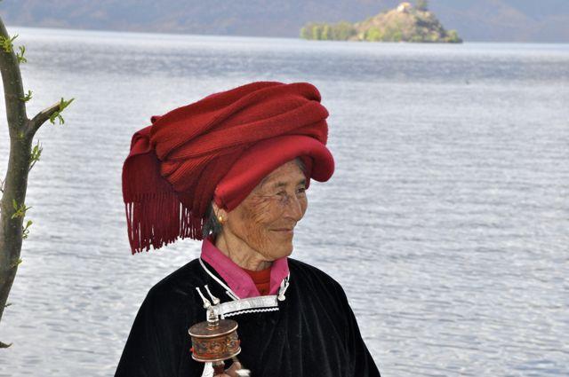 Matriarca Moso em Lugu Lake