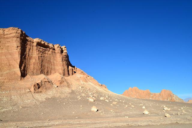 Paisagem típica do Deserto do Atacama.