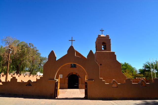 A charmosa igreja de San Pedro