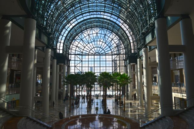 O Winter Garden do World Financial Center