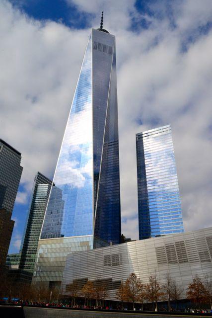 O One World Trade Center.