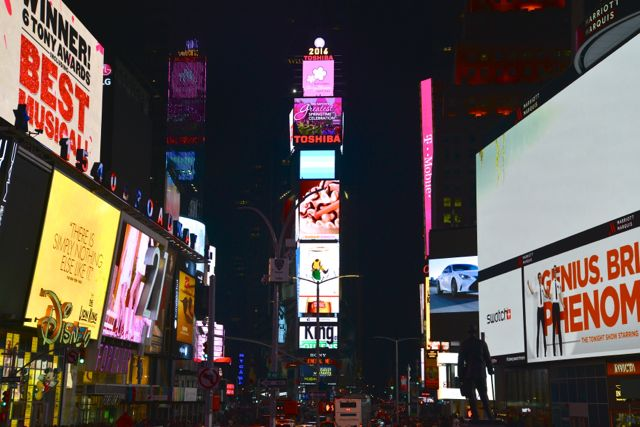 A noite em Nova York