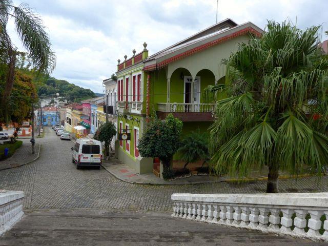 A cidade de Antonina.