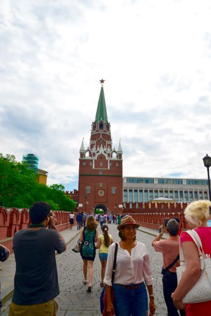 Napoleão entrou no Kremlin por aí.