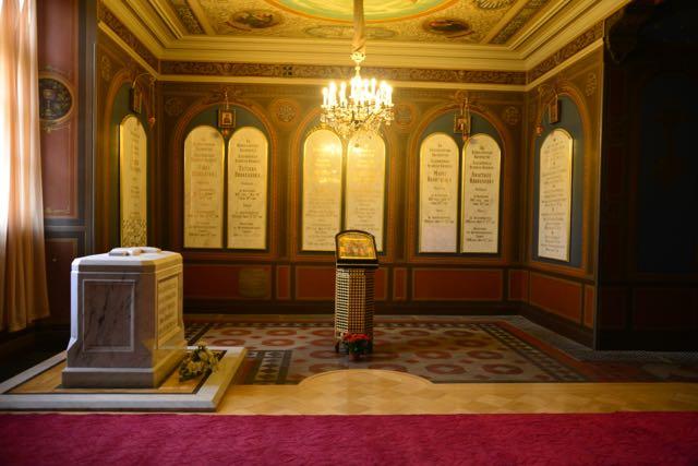 A Cripta de Nicolau II e da família Romanov