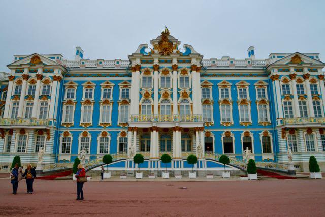 O maravilhoso Palácio de Catarina