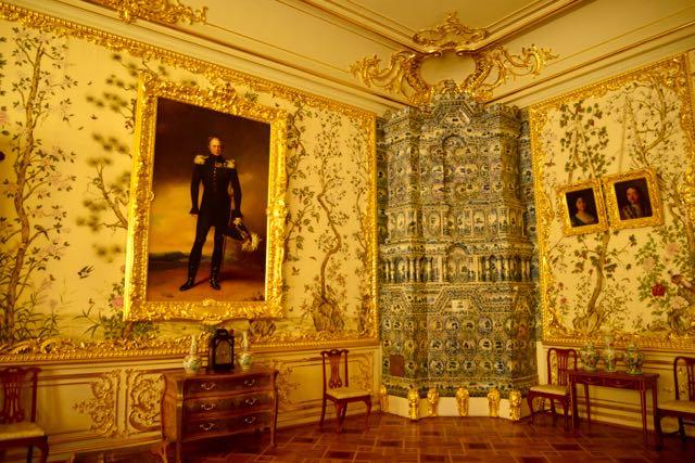 Luxo e requinte no Palácio.
