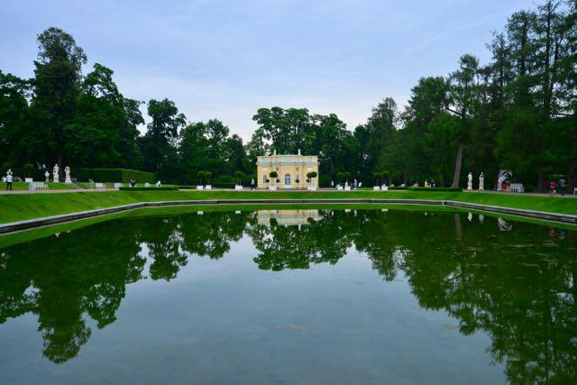 Detalhe dos jardins do Palácio.