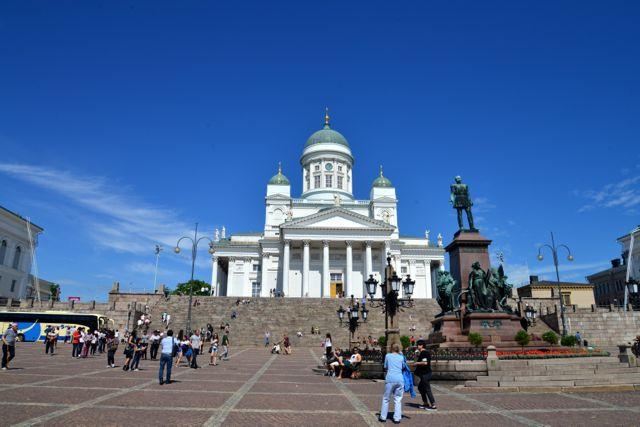 A Praça do Senado.