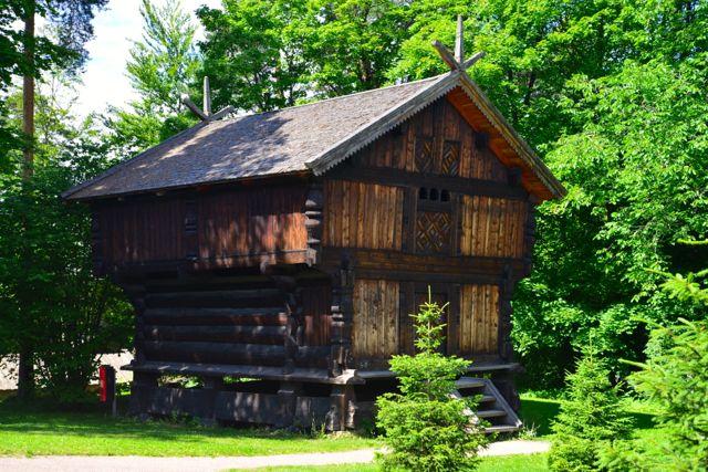 O Museu das Tradições da Noruega